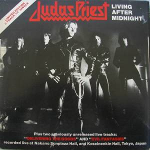 Judas Priest: Living After Midnight - Cover