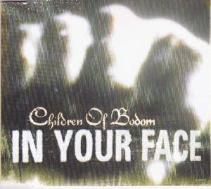Children Of Bodom: In Your Face - Cover
