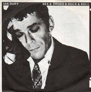 Ian Dury: Sex & Drugs & Rock & Roll - Cover