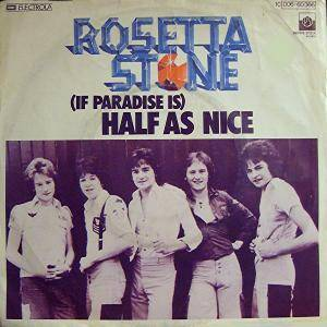 Cover - Rosetta Stone: (If Paradise Is) Half As Nice