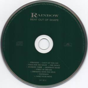 Rainbow: Bent Out Of Shape (CD) - Bild 3