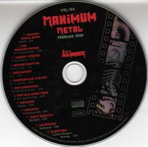 Metal Hammer - Maximum Metal Vol. 124 (CD) - Bild 3