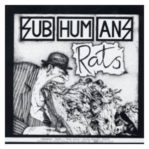 Subhumans: Time Flies But Aeroplanes Crash / Rats - Cover