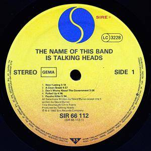 Talking Heads: The Name Of This Band Is Talking Heads (2-LP) - Bild 7