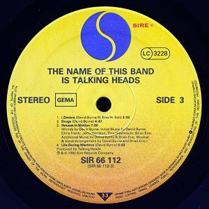 Talking Heads: The Name Of This Band Is Talking Heads (2-LP) - Bild 9