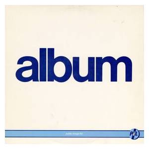 Public Image Ltd.: Album - Cover