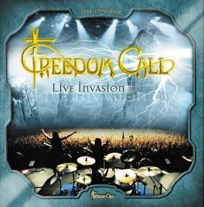 Freedom Call: Live Invasion - Cover