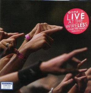 Triple J's Live At The Wireless From The Vaults Volume 1 - Cover