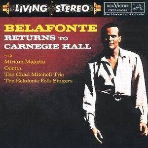 Harry Belafonte: Belafonte Returns To Carnegie Hall - Cover