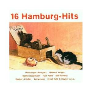 Cover - Hannes Kröger: 16 Hamburg-Hits