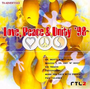 Love, Peace & Unity '98 - Cover