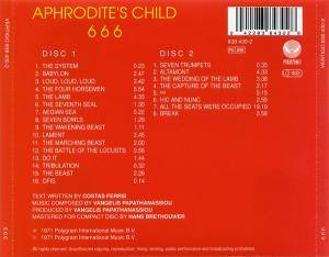 Aphrodite's Child: 666 (2-CD) - Bild 2
