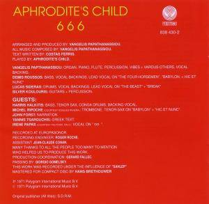 Aphrodite's Child: 666 (2-CD) - Bild 6