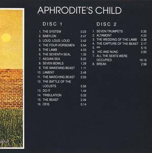 Aphrodite's Child: 666 (2-CD) - Bild 8