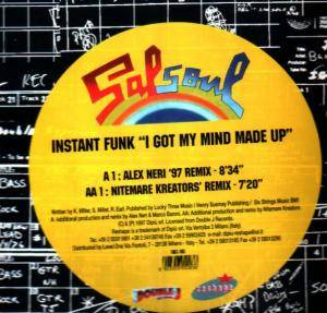Cover - Instant Funk: I Got My Mind Made Up