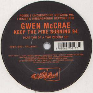 Cover - Gwen McGrae: Keep The Fire Burning 94