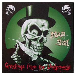Cover - Mad Sin: Greetings From The Underworld