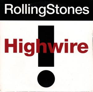 Rolling Stones, The: Highwire - Cover