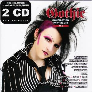 Cover - Nuuk: Gothic Compilation Part XXVIII