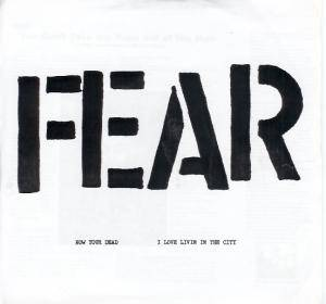 Cover - Fear: I Love Livin' In The City