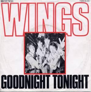 Wings Goodnight Tonight 7 Quot 1979