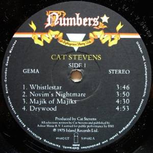 Cat Stevens: Numbers - A Pythagorean Theory Tale (LP) - Bild 4