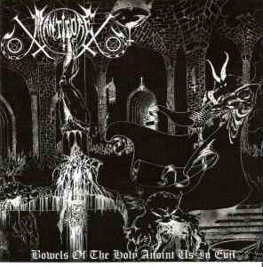 Cover - Manticore: Bowels Of The Holy Anoint Us In Evil