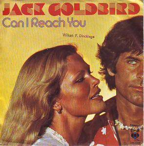 Jack Goldbird: Can I Reach You - Cover