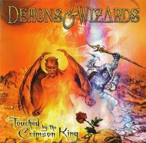 Demons & Wizards: Touched By The Crimson King - Cover