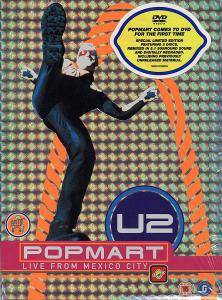 U2: Popmart Live From Mexico City - Cover