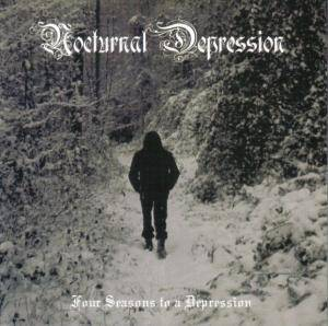 Nocturnal Depression: Four Seasons To A Depression - Cover