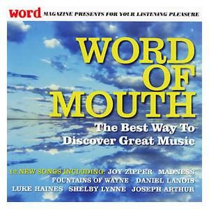 Cover - Luke Haines: Word Magazine 030 - Word Of Mouth