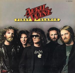 April Wine: First Glance - Cover