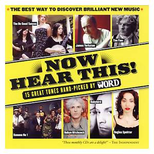 Word Magazine 045 - Now Hear This! - Cover