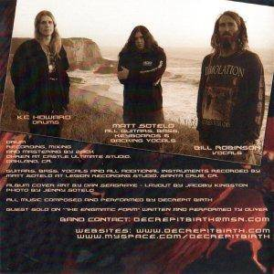 Decrepit Birth: Diminishing Between Worlds (CD) - Bild 2