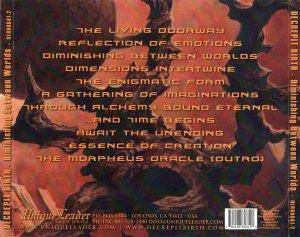 Decrepit Birth: Diminishing Between Worlds (CD) - Bild 4