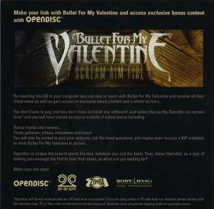 Bullet For My Valentine: Scream Aim Fire (CD + DVD) - Bild 5
