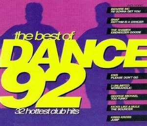 Best Of Dance 92 - 32 Hottest Club Hits, The - Cover