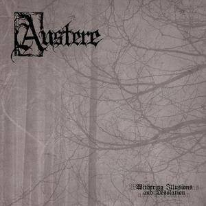 Austere: Withering Illusions And Desolation - Cover