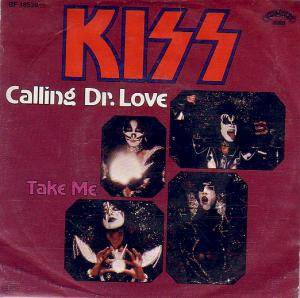 KISS: Calling Dr. Love - Cover
