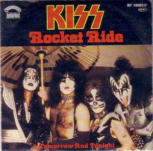 KISS: Rocket Ride - Cover