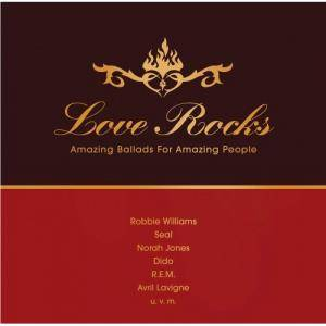 Cover - Peter Gabriel & Kate Bush: Love Rocks - Amazing Ballads For Amazing People