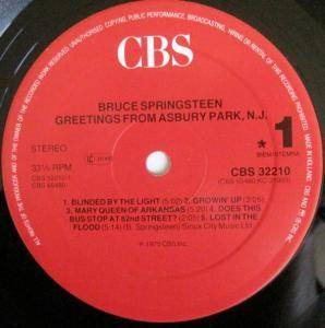 Bruce Springsteen: Greetings From Asbury Park, N.J. (LP) - Bild 5