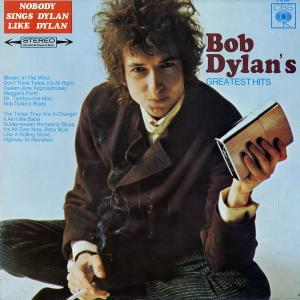Bob Dylan: Bob Dylan's Greatest Hits - Cover