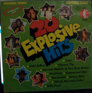 20 Explosive Hits - Cover