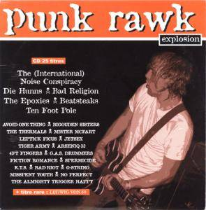 Rock Sound (F) - Punk Rawk Explosion Vol. 16 - Cover