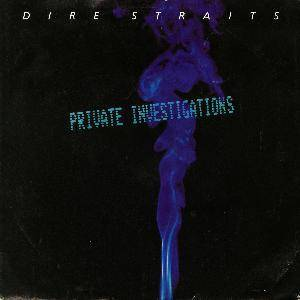 Dire Straits: Private Investigations - Cover