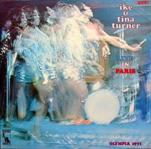 Ike & Tina Turner: Live In Paris - Cover