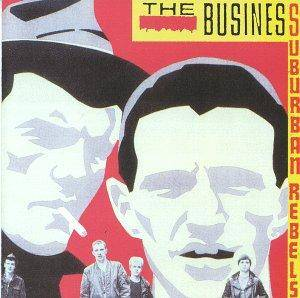 The Business: Suburban Rebels - Cover