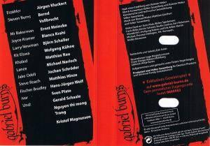 Experiment Stille gabriel burns 03 experiment stille 2003